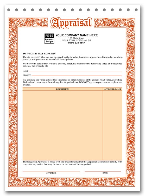 jewelry invoice template. jewelry repair orders w poly bag x 7 128, Invoice examples