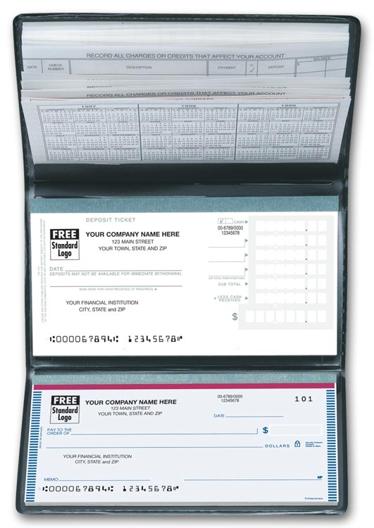 51177N Personal Size Check Register 6 X 3""