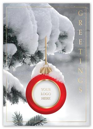 H13631 Sincerely Yours Holiday Cards 5 5/8 x 7 7/8