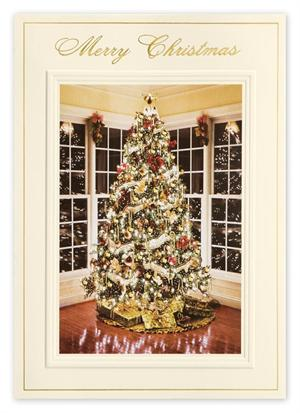 H14645 Bright Reflections Christmas Cards 5 5/8 x 7 7/8