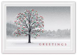 H15658 Winter Jewels Holiday Cards 7 7/8 x 5 5/8