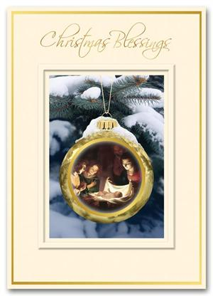 HH1601 Away in a Manger Christmas Card