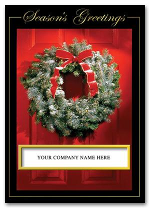HH1604 Inviting Welcome Holiday Card