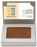 108689 Milk Chocolate Business Card