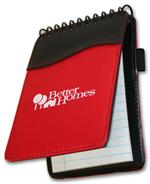 108991 Spiral Sign Wave (TM) Jotter Pad 3 7/8 x 5 7/8