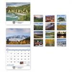 109373 2018 Landscapes Of America Wall Calendars 11 x 19