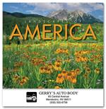 109373 Landscapes Of America Wall Calendars 10 x 19
