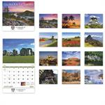 109374 2018 Glorious Getaways Wall Calendars 11 x 19
