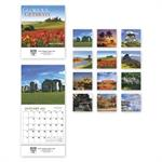 109383 Glorious Getaways Miniature Calendars 6 x 13