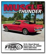 109386 Muscle Thunder Miniature Calendars 6 x 13