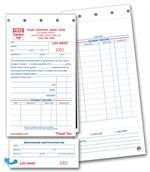 147 Lay Away Forms Sets 4 1/4 x 8 1/2