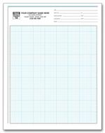 207 Graph Papers Pro-Sketch 1/8
