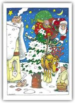 H52029 - N2029 Crash Course Automotive Holiday Cards 5 5/8 x 7 7/8