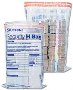 53861 Currency Shipping Deposit Bag Clear 19 x 28