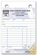 609T Multi Purpose Register Forms Colors Design Small Format 4 x 6