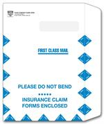 787 Large Claim Form Mailing Envelope 9 x 13