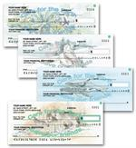 C704 Save Our Wildlife Personal Checks 6 x 2 3/4