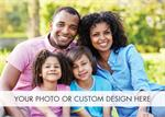 D9002 Fully Customizable Holiday Photo Cards Horizontal 7 7/8 x 5 5/8