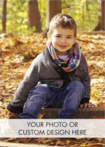 D9003 Fully Customizable Holiday Photo Cards Vertical 5 5/8 x 7 7/8