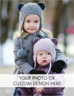 D9009 Vertical Custom Flat Photo Cards Value Size 4 1/4 x 5 1/2