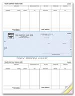 DLM334 Laser Payroll Check Compatible with MAS