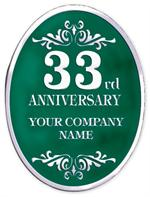 FSE32 Personalized Anniversary Seal Rolls 1 5/8 x 2 1/8