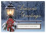 H14606 Light the Way Holiday Card