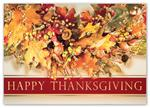 H15601 - N5601 Feeling Thankful Thanksgiving Holiday Cards 7 7/8 x 5 5/8