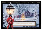 H15617 - N5617 Winter Glow Holiday Cards 7 7/8 x 5 5/8