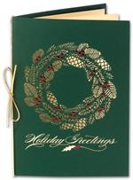 H2606 Holly Season Holiday Card