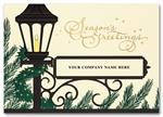 H2608 Homecoming Lantern Holiday Card