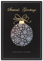 H2619 Silver Elegance Holiday Card