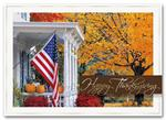 H2665 - N2665 Golden Days Thanksgiving Cards 7 7/8 x 5 5/8