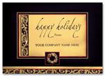 H55103 Holiday Cards Distinction In Gold