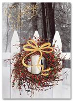 H55942 Holiday Cards Wintry
