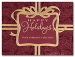 H58108 Holiday Cards Wrapped In Elegance