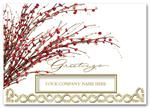 H58208 Business Holiday Cards - Red Berry Radiance