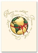 HH09018 Holiday Cards Peace-Wrapped