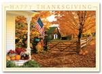 HH1619 Fall Greetings Thanksgiving Card