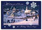 HH1640 Sledding Fun Holiday Card