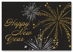 HH1676 Starry Spectacular New Years Card imprinted