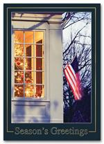 HH1690 American Dream Holiday Card