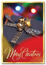 HH1694 Glimmering Bells Holiday Card