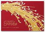 HH1698 Golden Willows Holiday Card