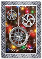 HML1510 Wheel Art Automotive Holiday Card