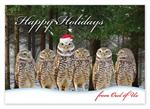 HP14315 - N4315 Owl of Us Christmas Cards 7 7/8 x 5 5/8