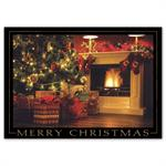 HP16305 -N6305 Stockings Aglow Christmas Cards 7 7/8 x 5 5/8