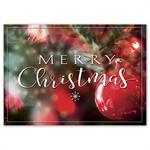HP16311 - N6311 Bold & Merry Christmas Cards 7 7/8 x 5 5/8