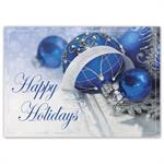 HP16312 - NN6312 Starlight Sapphire Holiday Cards 7 7/8 x 5 5/8