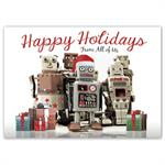 HP16318 - N6318 Robo Squad Holiday Cards 7 7/8 x 5 5/8
